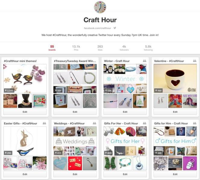 Craft Hour Pinterest
