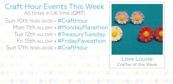 Craft Hour Schedule